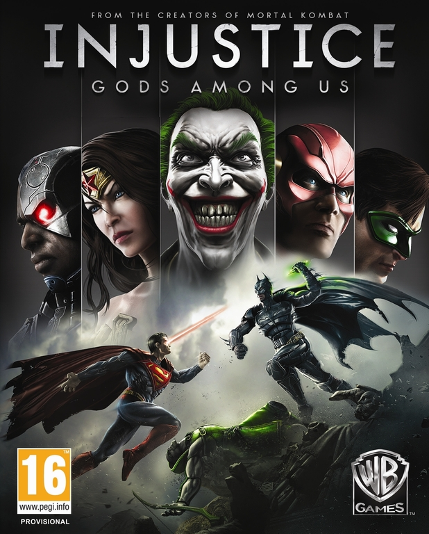 Injustice: Gods Among Us GOTY (PC) Krabicová