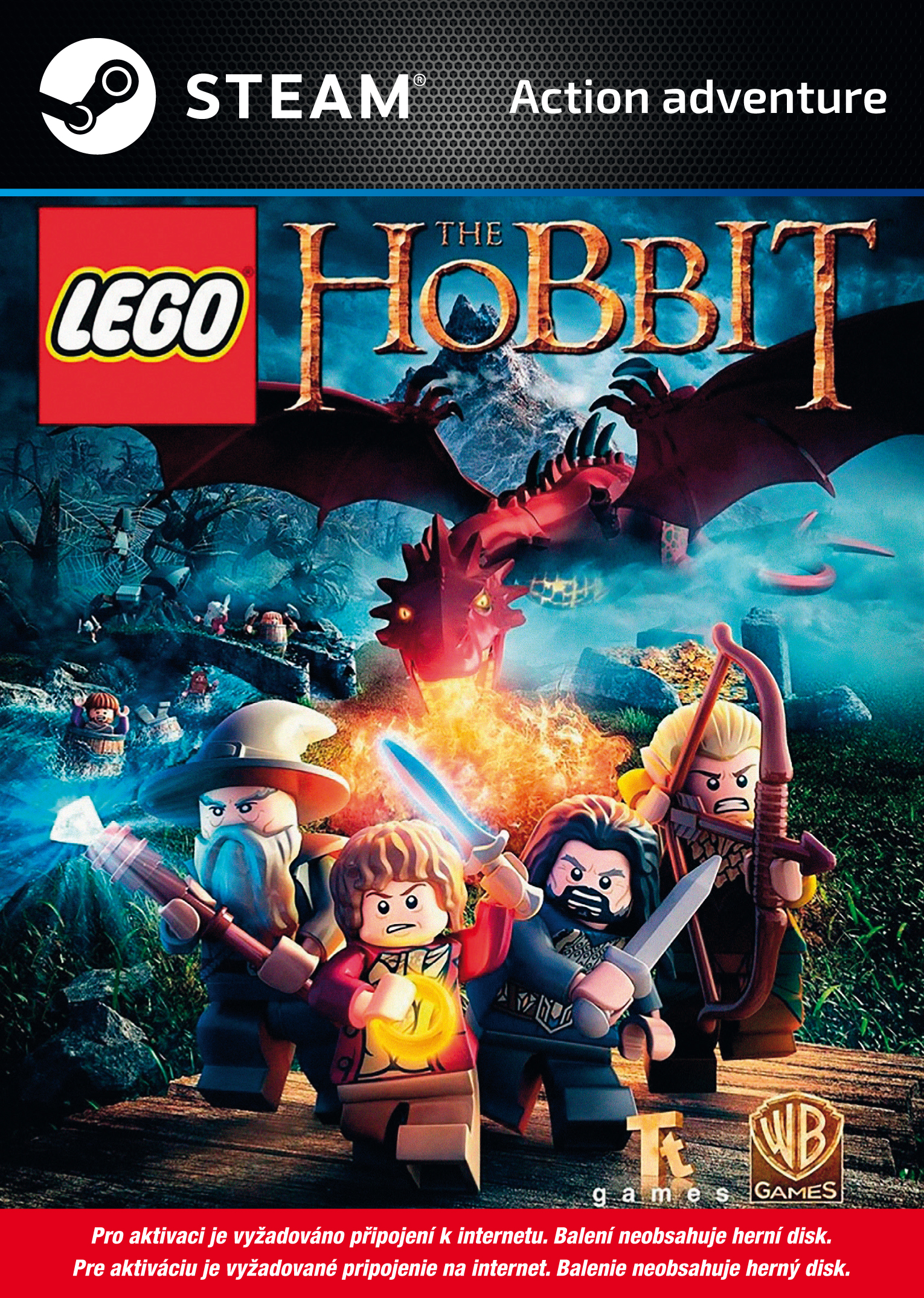 Warner Bros Interactive LEGO The Hobbit (PC Steam) Krabicová
