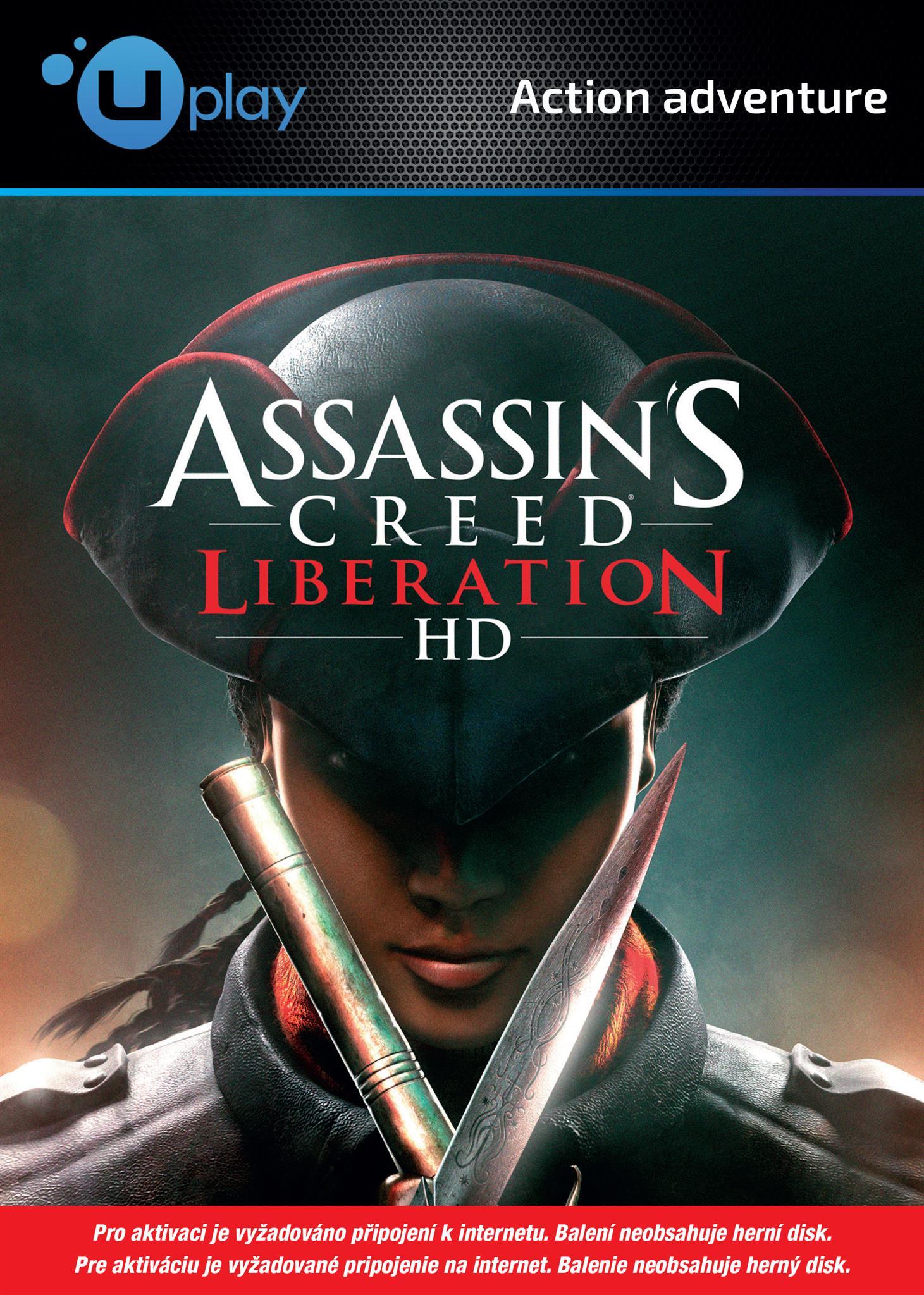 UbiSoft Assassins Creed Liberation HD (PC Uplay) Krabicová