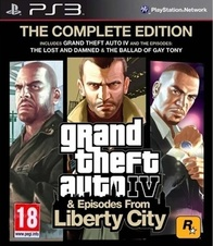 GTA IV Complete (PS3)