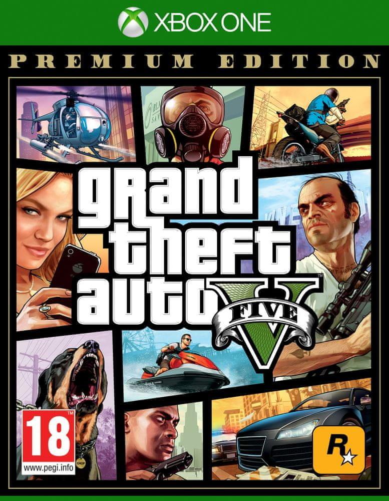 Grand Theft Auto V Premium Edition (XOne)