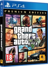 Grand Theft Auto V Premium Edition (PS4)