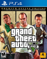 Grand Theft Auto V Premium Online Edition (PS4)