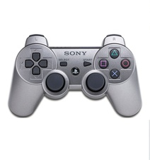 Sony Dualshock 3 Controller Satin Silver (PS3)