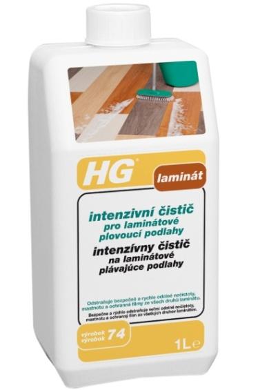 HG intenzivní čistič pro laminátové plovoucí podlahy 1l
