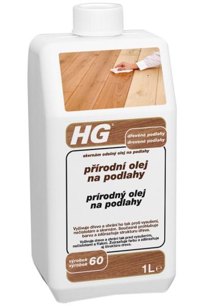 HG přírodní olej na podlahy 1l