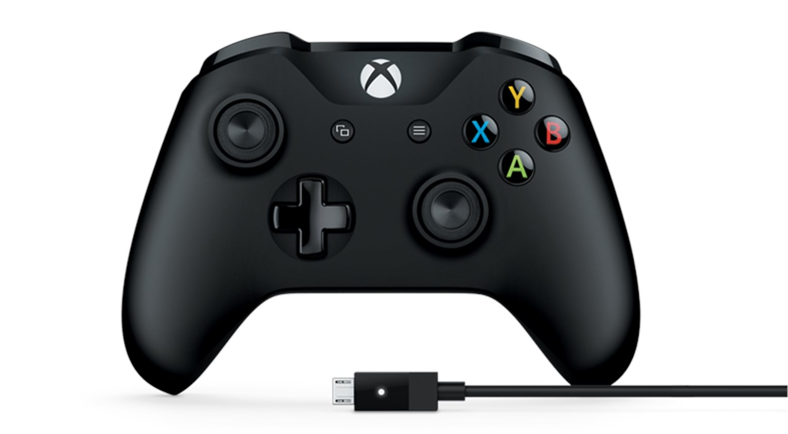Microsoft Xbox One Gamepad + kabel pro Windows, USB (XOne)