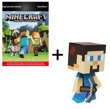 Minecraft Windows 10 Edition (PC) + JINX Vinyl Steve