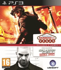 Splinter Cell Double Agent & Rainbow 6 Vegas (PS3)