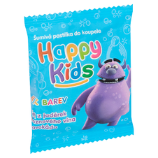 Happy Kids šumivá pastilka do koupele 40g