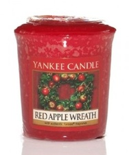 Yankee Candle Votivní svíčka Red Apple Wreath