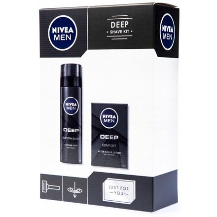 Nivea Men Deep Shave Kit - Dárková sada
