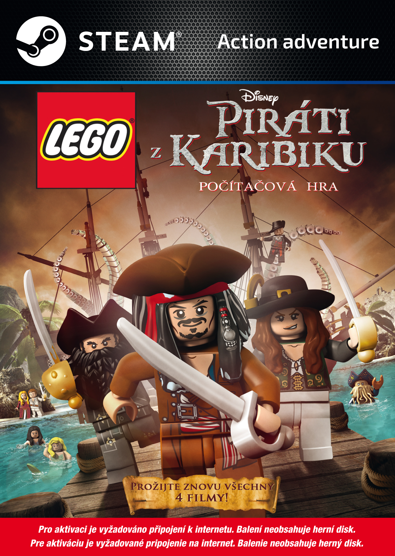 LEGO Piráti z Karibiku (PC Steam) Krabicová