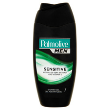 Palmolive Men Sprchový gel Sensitive Aloe vera 250 ml