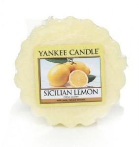Yankee Candle Vosk do aromalampy Sicilian Lemon 22 g