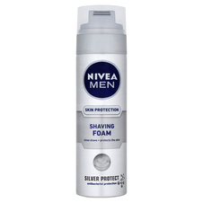 Nivea Men Pěna na holení Skin Protection 200 ml