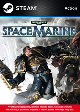 Warhammer 40.000: Space Marine CZ (PC Steam)