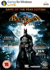 Batman: Arkham Asylum GOTY (PC)