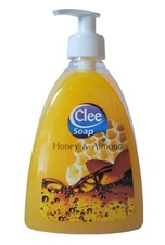 Clee tekuté mýdlo Honey & Almond 500ml