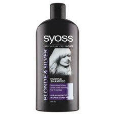 Syoss Blonde & Silver Purple šampon 500 ml