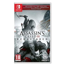 Assassin's Creed III Remastered + Assassin's Creed Liberation Remastered (Switch)