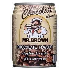 Mr. Brown Chocolate Flavor Coffee Drink 240ml