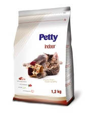 PETTY Royal Indoor s brusinkou 1,2 kg