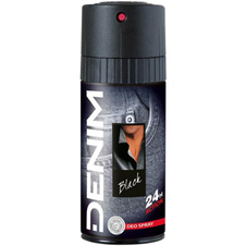 Denim Deodorant Black 150 ml