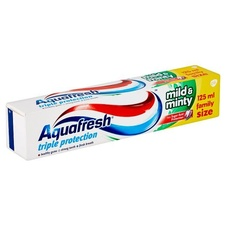 Aquafresh Triple Protection Mild & Minty zubní pasta 125 ml