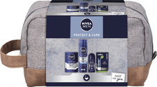 Nivea Men Protect & Care balzám po holení 100 ml + gel na holení 200 ml + antiperspirant deodorant r