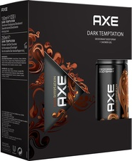 Axe Dark Temptation deospray 150 ml + sprchový gel 250 ml dárková sada