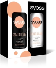 Syoss Keratin šampon 440 ml + Syoss Keratin balzám 440 ml