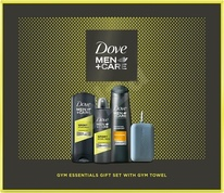Dove Men+Care Sport Active Fresh SG 250 ml + Antiperspirant 150 ml + Šampon 250 ml + sport ručník