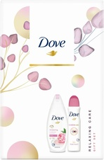 Dove Renewing sprchový gel 250 ml + Dove Invisible Care Floral Touch deodorant 150 ml