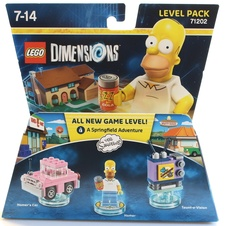 LEGO Dimensions Simpsons Level Pack (71202)