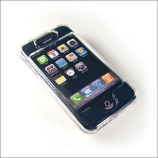 Pouzdro na mobil Crystal Case Iphone (Apple)