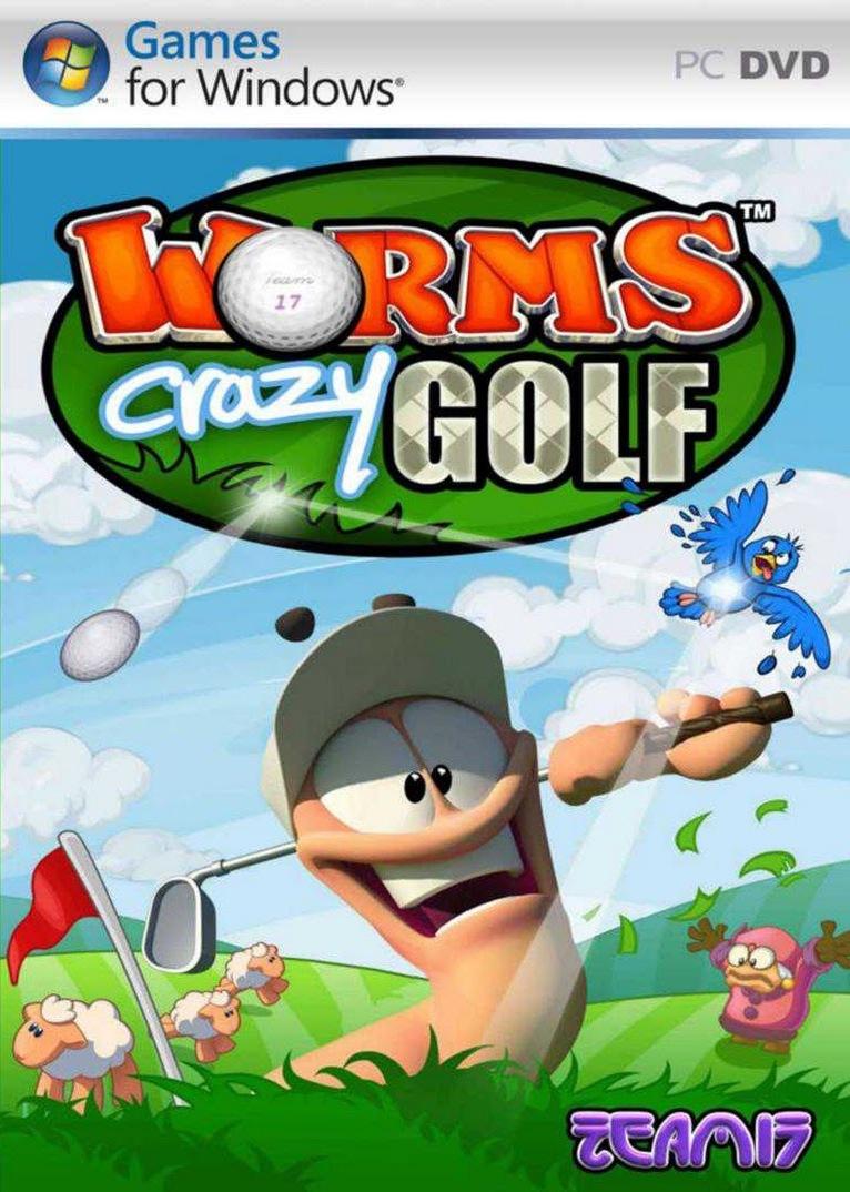 Team17 Worms: Crazy Golf (PC) Krabicová