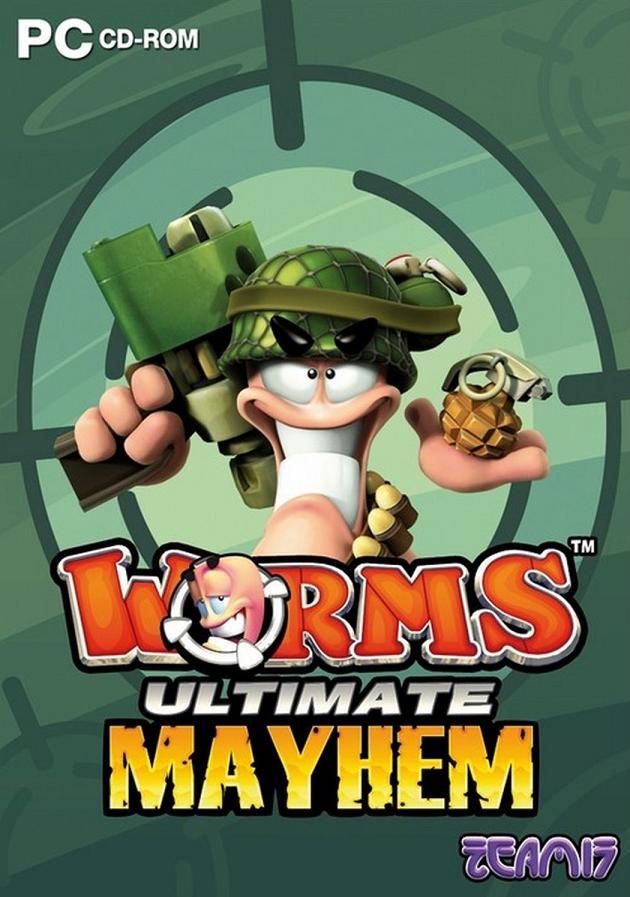 Worms: Ultimate Mayhem (PC) Krabicová