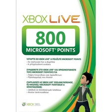 Microsoft Points 800 (X-360)