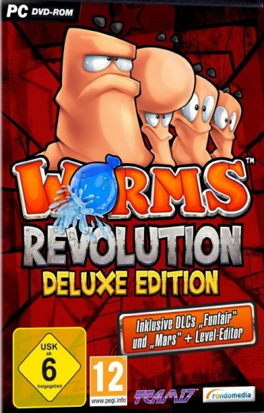 Worms Revolution Deluxe Edition (PC) Krabicová