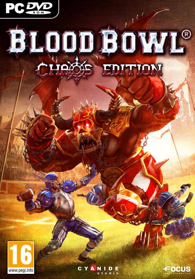Blood Bowl: Chaos Edition (PC) Krabicová