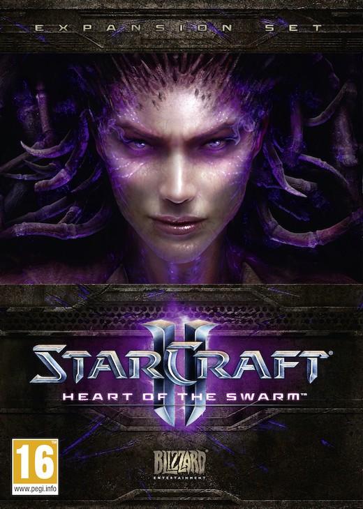 StarCraft II: Heart of the Swarm (PC) Krabicová