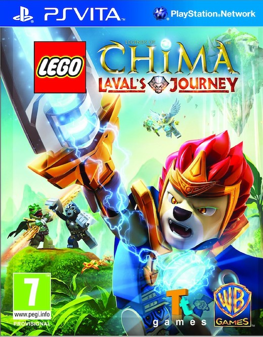 LEGO Legends of Chima: Lavals Journey (PSV)