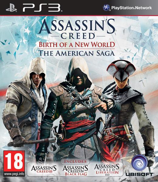 Assassins Creed: The American Saga Collection (PS3)