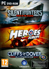 Silent Hunter 5 + Heroes Over Europe + Il-2 Sturmovik: Cliffs of Dover (PC)