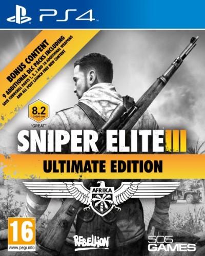 505 GameStreet Sniper Elite 3 Ultimate Edition (PS4)