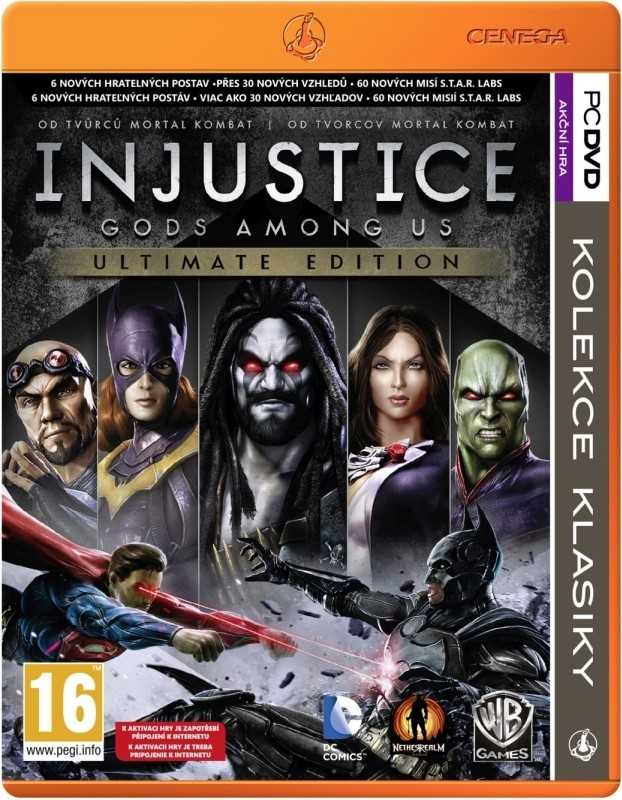 Injustice: Gods Among Us Ultimate Edition (PC) Krabicová