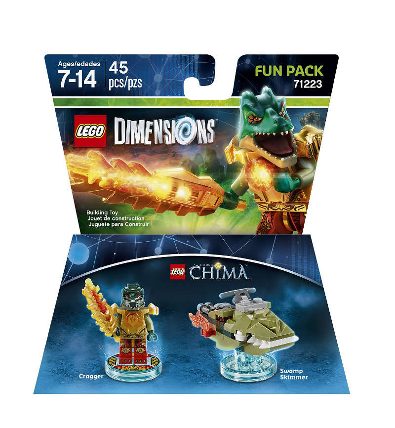 LEGO Dimensions Cragger Fun Pack (71223 Chima)