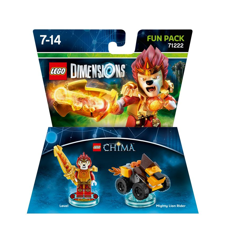 LEGO Dimensions Laval Fun Pack (71222 Chima)