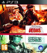 Tom Clancys Ghost Recon AW2+Rainbow Six Vegas 2 (PS3)
